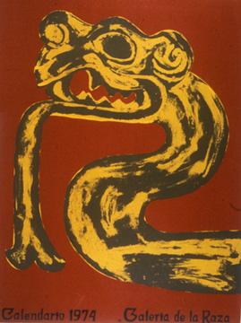 Calendario 1974.Galeria De La Raza Calendario Exhibition