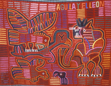 Molas by the Kuna Indians