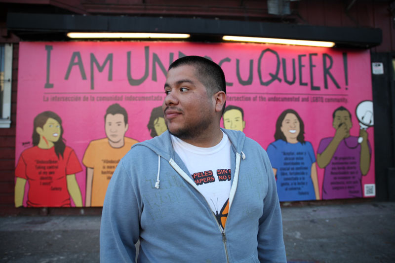 Artist Julio Salgado in an interview about the mural for the Huffington Post, 2013